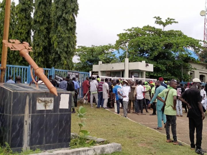 Why Niger legislator joined students' protest against hike in tuition fee